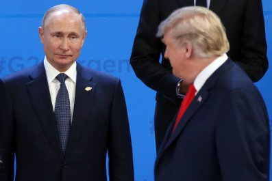 Donald Trump, Vladimir Putin, G7, lapdog