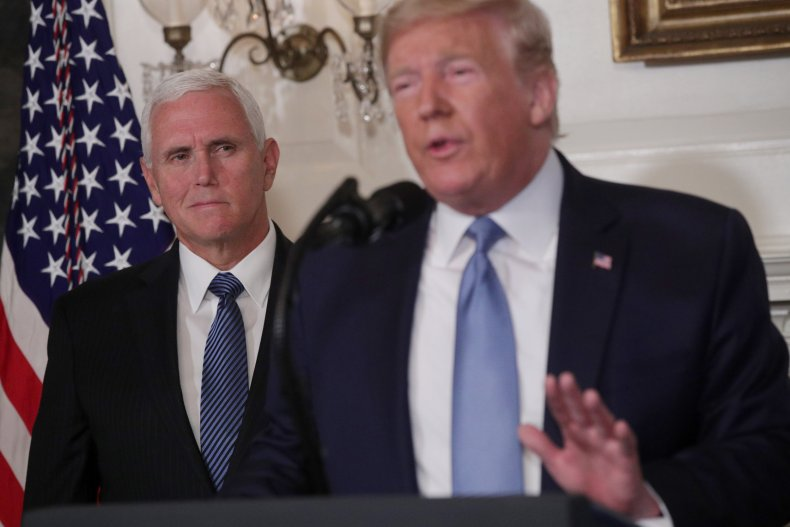 Donald Trump, Mike Pence, Walter Mondale