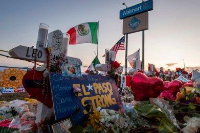 el paso texas shooting memorial walmart