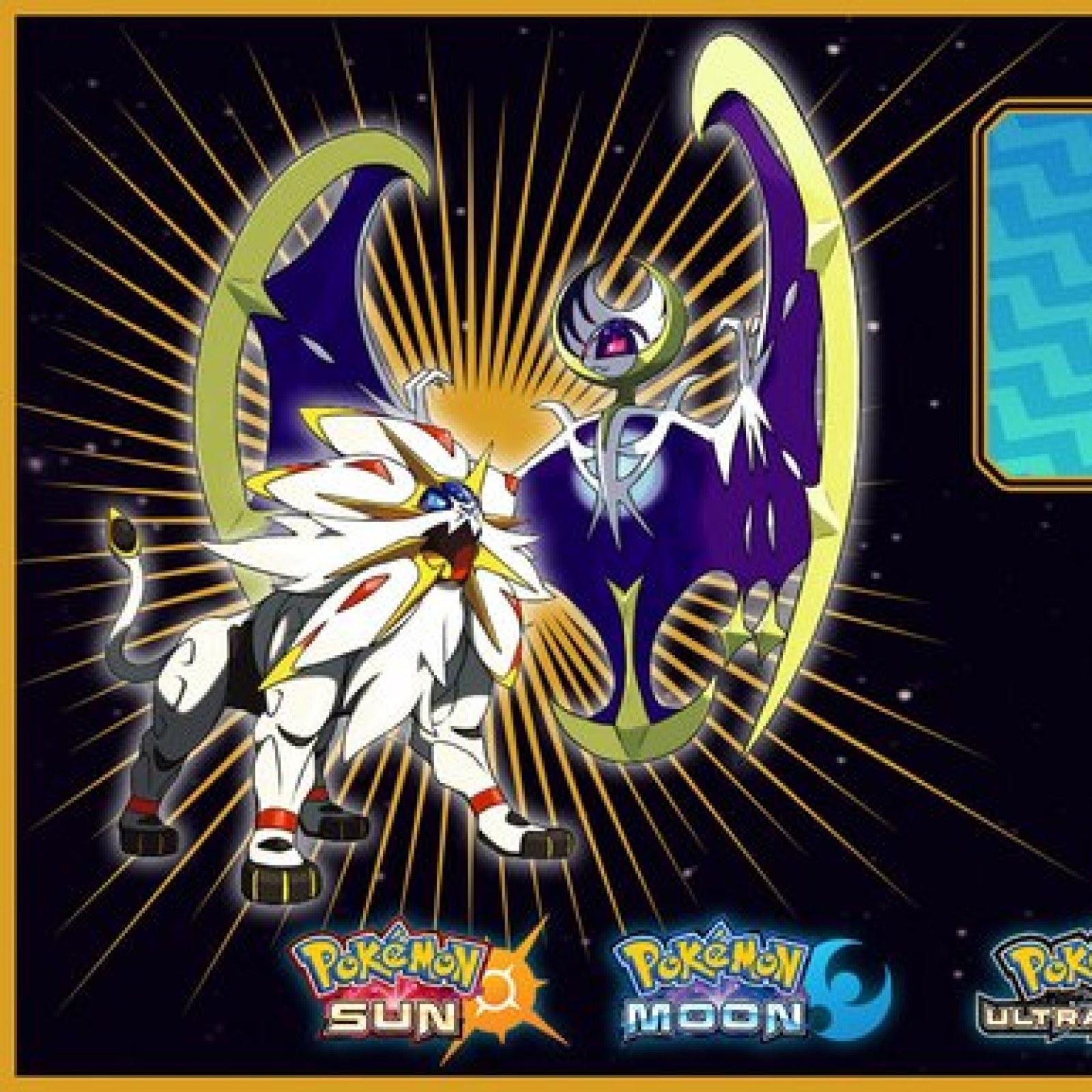 Pokémon Ultra Sun and Moon': Shiny Solgaleo and Lunala to be