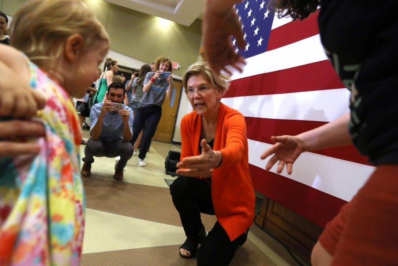 Elizabeth Warren Child Care Women