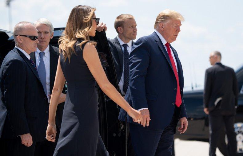 Donald Melania Trump Dog Call