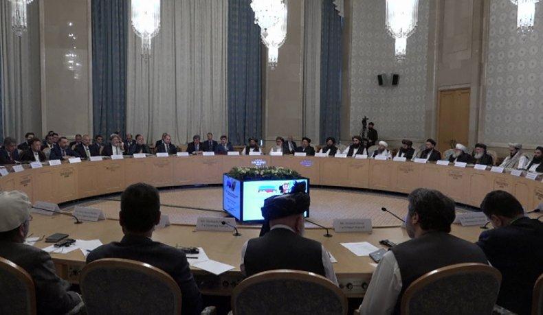 russia moscow afghanistan taliban talks