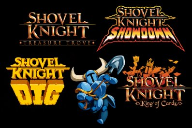 shovel knight dig king cards showdown