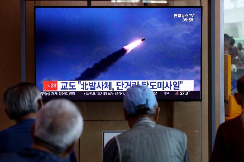 North Korea, missile, test, launch, rocket