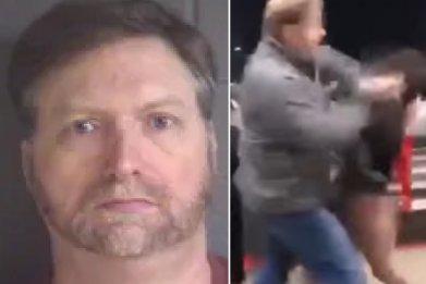 mall punch viral video david steven bell