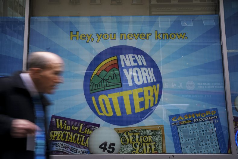 new york lotto poster