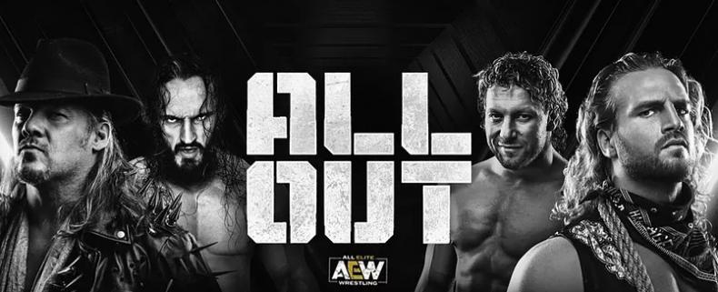 all elite wrestling all out banner