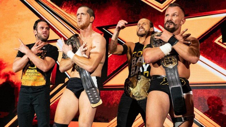 undisputed era nxt tag team championships