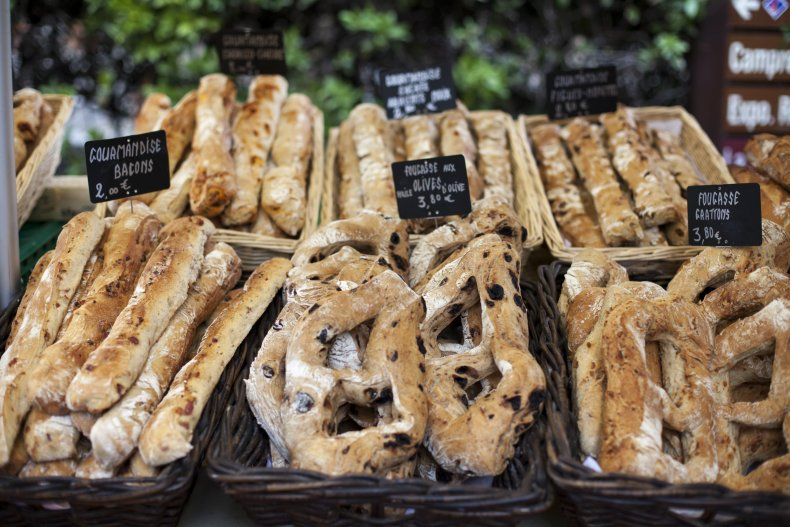 Bread French Farmer's market