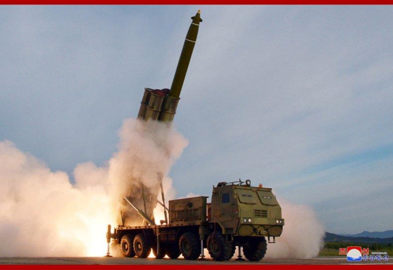 north korea rocket test launch