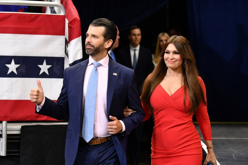 Donald Trump Jr Kimberley Guilfoyle rally Kentucky
