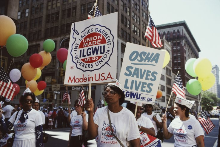 labor day parade in 1982