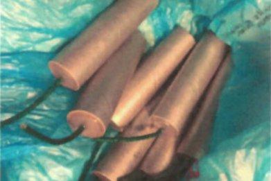new york teacher homemade explosives guns drugs