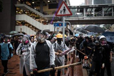 Hong Kong, demands, protests, China, reject