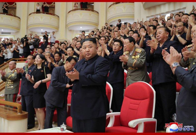 north korea kim jong un orchestra