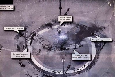 trump tweet iran satellite failure