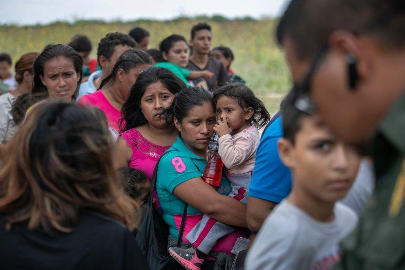 Immigrants Texas Border Patrol