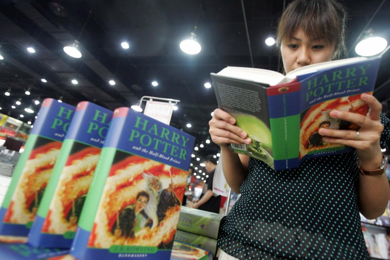 harry potter books banned