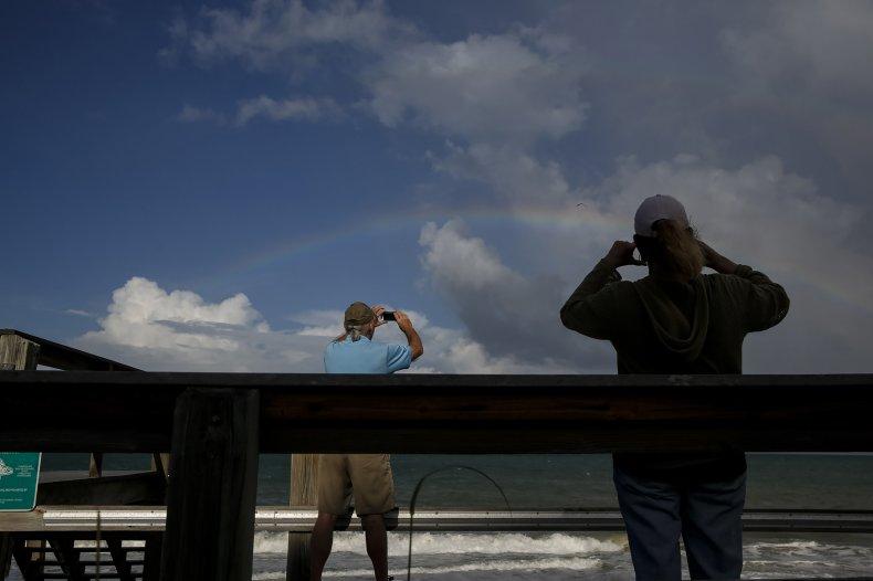 Hurricane Dorian, Florida man, ice, navy