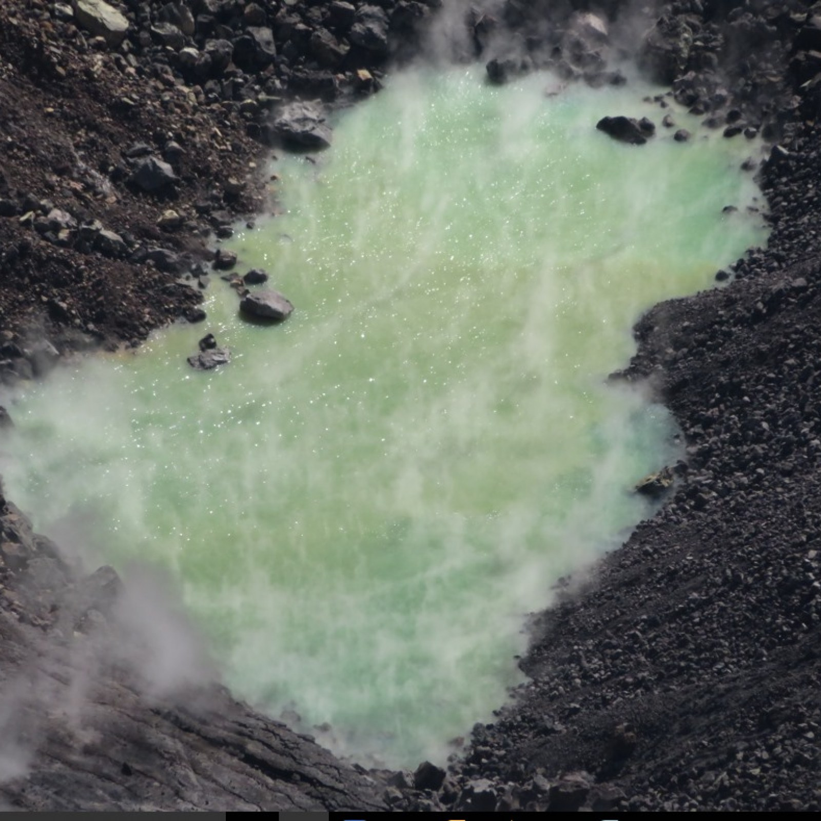 Mystery Pool of Boiling Water Inside Hawaii Volcano Crater