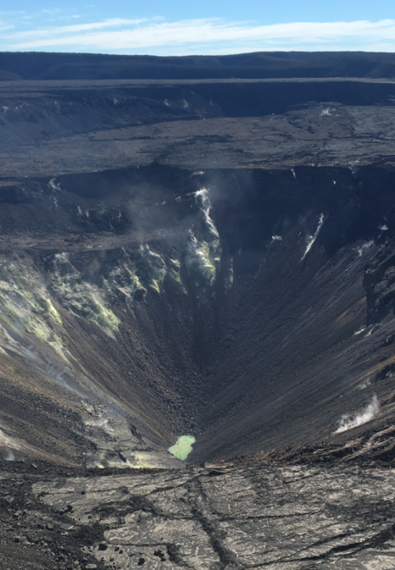 hawaii crater lake