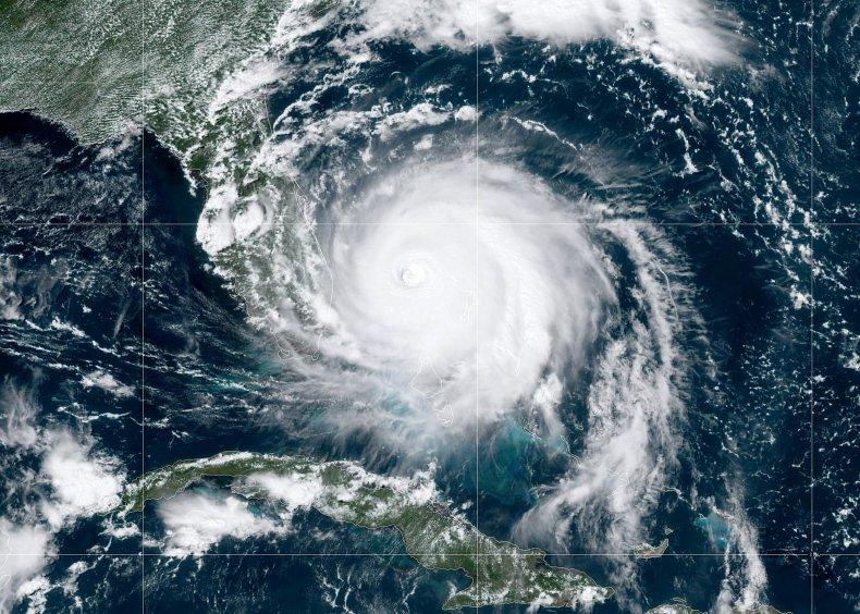 Anderson Cooper, Donald Trump, Hurricane Dorian