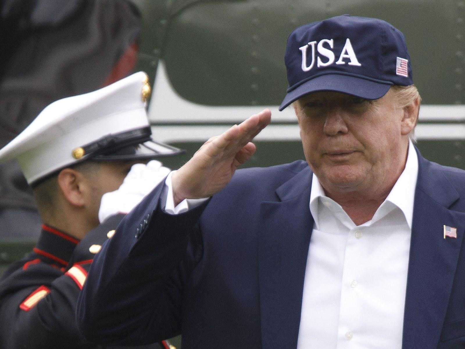 Donald Trump Congratulates Poland As Nation Marks Somber