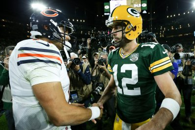 Mitchell Trubisky, Aaron Rodgers