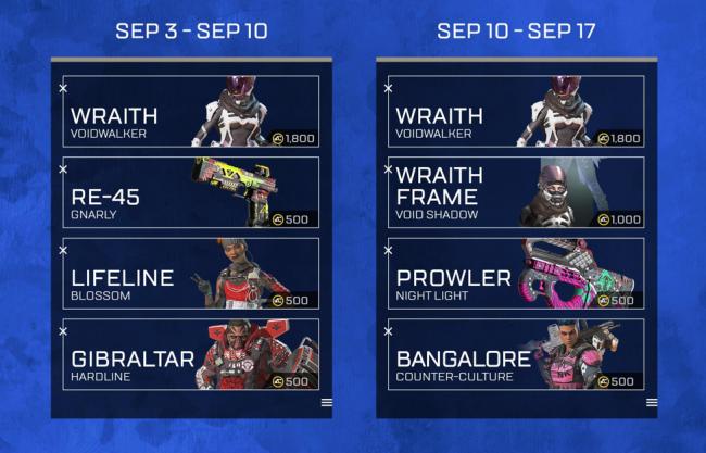 Apex Legends' Update 1 18 Adds Voidwalker Event, Armed