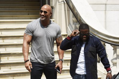 Kevin and The Rock