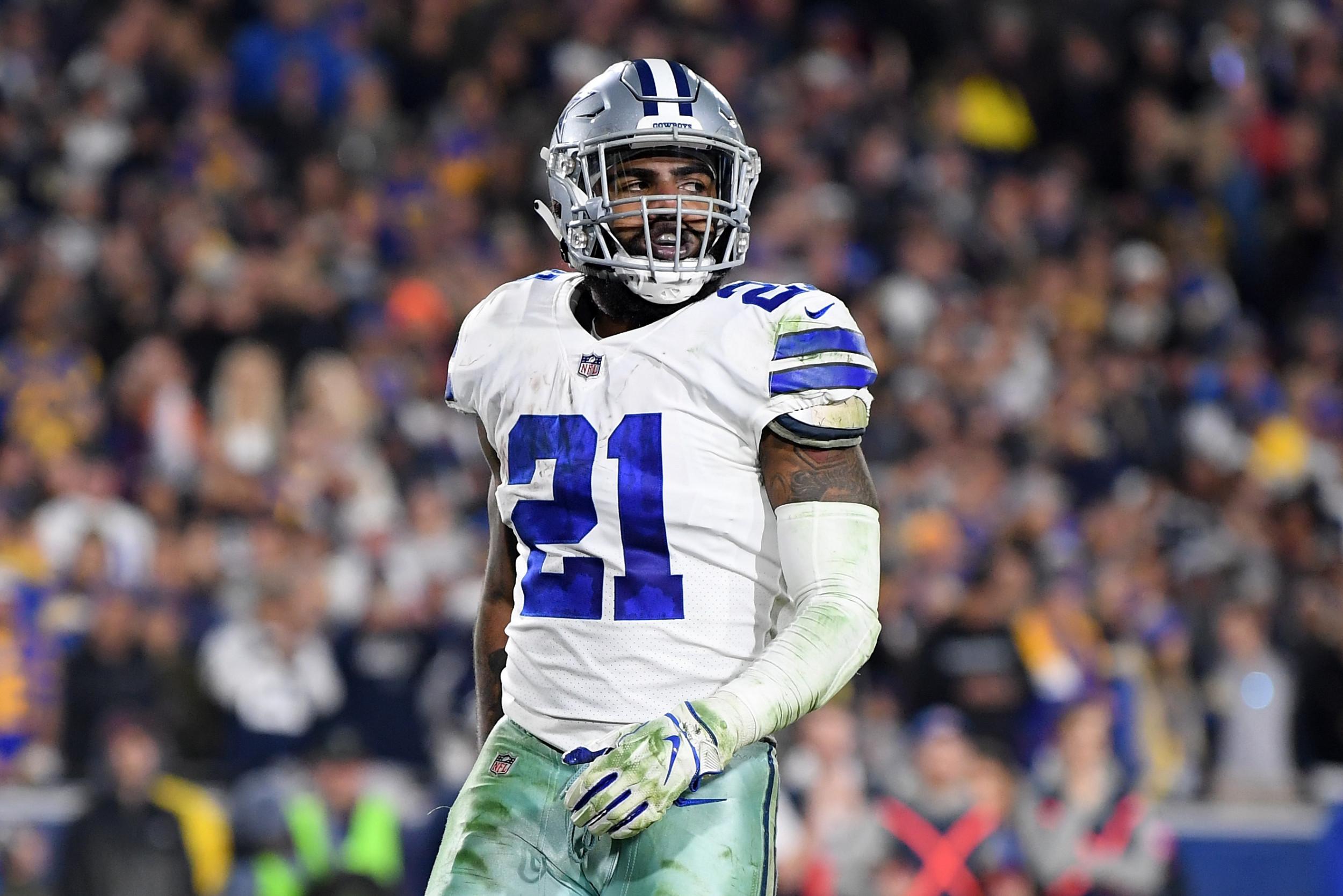 buy online 0199f 2e7d0 Ezekiel Elliott Holdout: Will Dallas Cowboys Running Back ...