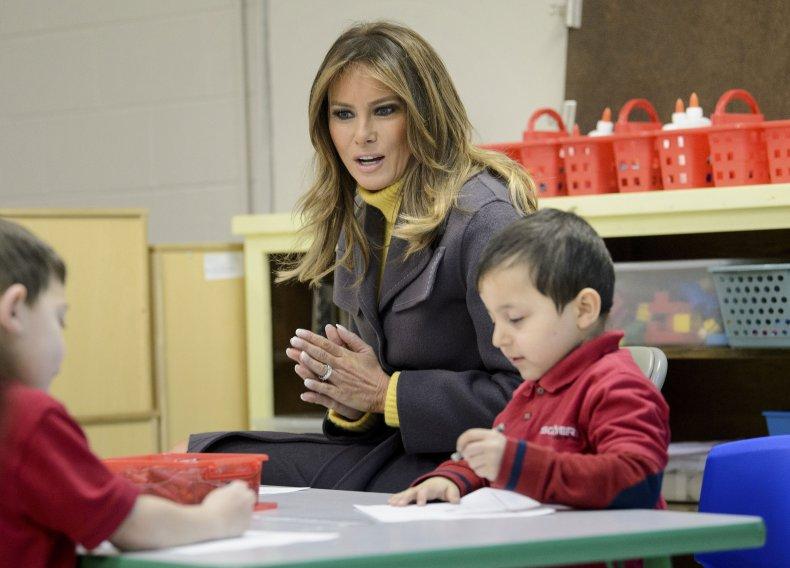 Melania Trump Be Best School
