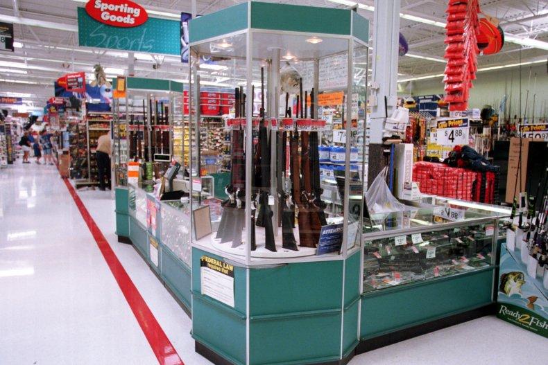Wal-Mart selling guns and ammunition