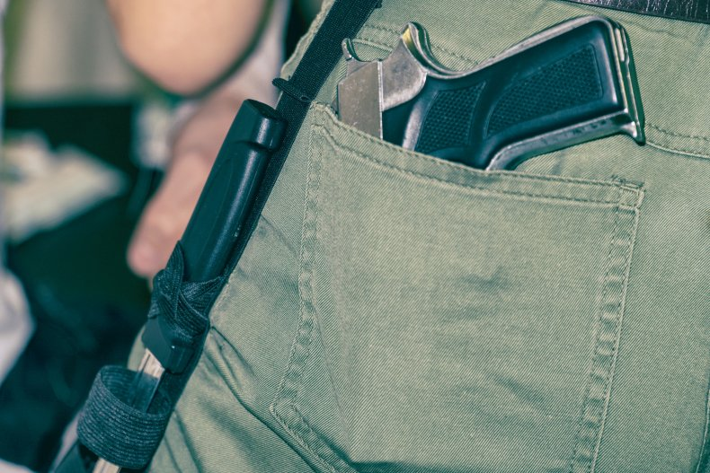 open carry stock photo