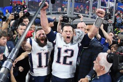 Julian Edelman, Tom Brady, New England Patriots
