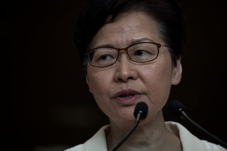 Carrie Lam, Hong Kong, extradition bill, withdrawal