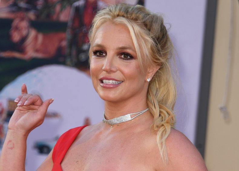 Britney Spears Once Upon a Time... in Hollywood