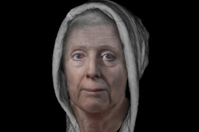 witch face reconstruction