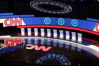 cnn democratic presidential debate stage