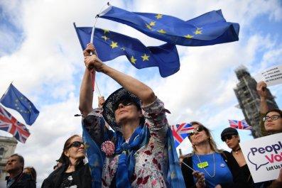 no-deal brexit protest