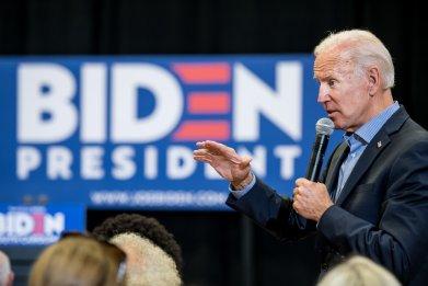 Joe Biden climate change poll