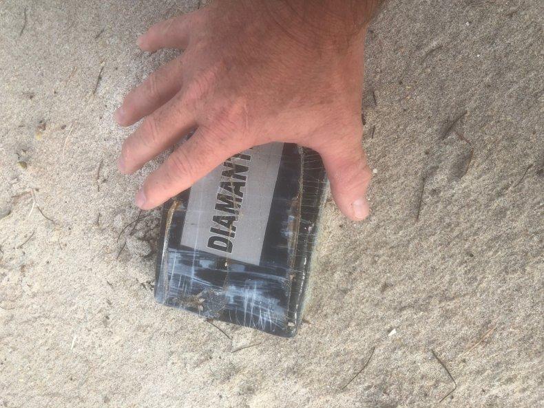 Cocaine Washed Up on Florida Beach