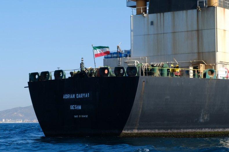iran oil tanker uk gibraltar