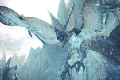 monster hunter world iceborne legiana screen