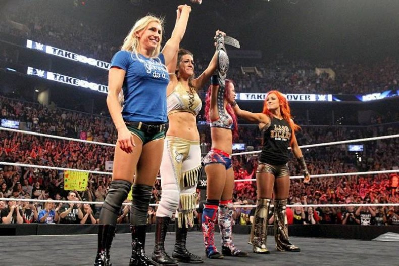 wwe nxt takeover brooklyn four horsewomen