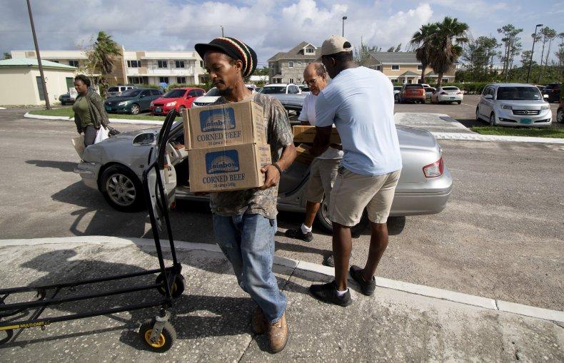 bahamas relief effort