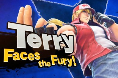 smash ultimate terry bogard reveal