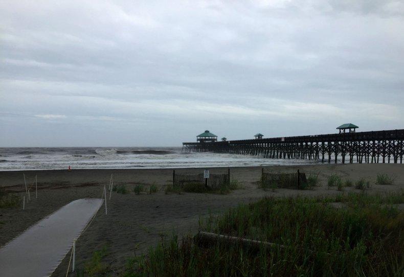 hurricane dorian webcam live feed