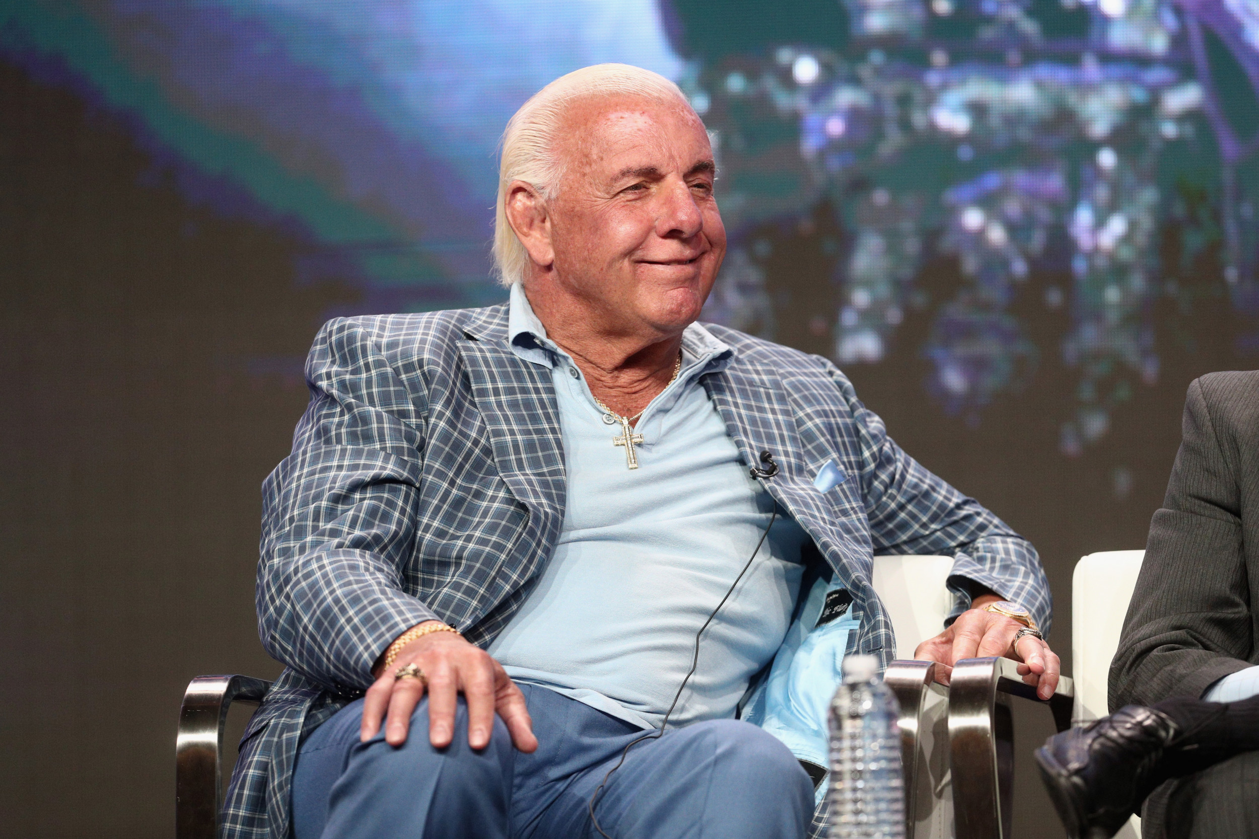 Ric Flair Wwe In Dispute Over Becky Lynch S The Man